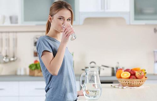 si può bere acqua addolcita potabile